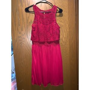 Red homecoming/ Prom dress.